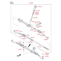 Сальник рулевой рейки (Hyundai-KIA) 577363C000