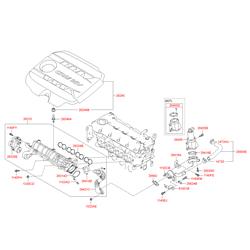Клапан топливной системы (Hyundai-KIA) 283202A400