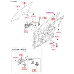 Эмблема (Hyundai-KIA) 9611107100