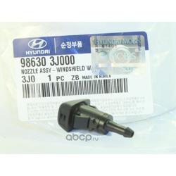 Жиклер омывателя Веерные форсунки (Hyundai-KIA) 986303J000