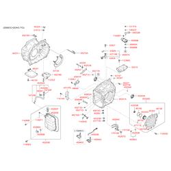 Поддон АКПП (Hyundai-KIA) 452803B010