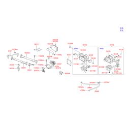 Датчик положения дроссельной заслонки (Hyundai-KIA) 3510239000