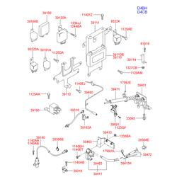Датчик положения распредвала (Hyundai-KIA) 393504A000