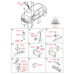 Датчик удара (Hyundai-KIA) 959302P000