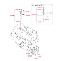 Инжектор (Hyundai-KIA) 338002F300