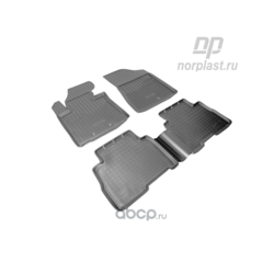 Коврики в салон киа соренто 2013 (NORPLAST) NPA11C43650