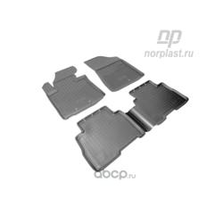 Коврики в салон киа соренто 2015 (NORPLAST) NPA11C43650