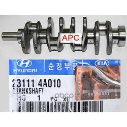 Коленвал (Hyundai-KIA) 231114A010