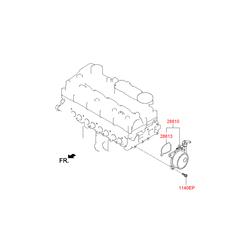 Вакуумный насос киа соренто дизель (Hyundai-KIA) 288102F000