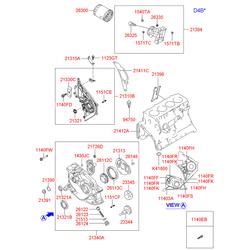 Масляный насос (Hyundai-KIA) 2131038062