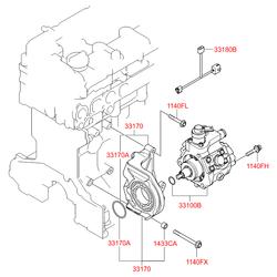Топливный насос (Hyundai-KIA) 331004A420