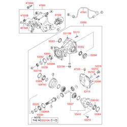 Муфта включения заднего привода киа соренто (Hyundai-KIA) 4780024700