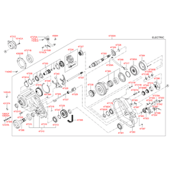 Вилка раздатки (Hyundai-KIA) 47340H1000