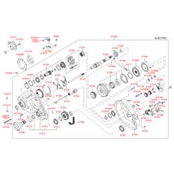 Мотор раздатки (Hyundai-KIA) 47303H1000