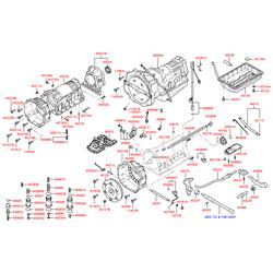 Сальник гидротрансформатора АКПП (Hyundai-KIA) 45554H1070