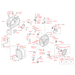 Сальник привода КПП (Hyundai-KIA) 452453B100