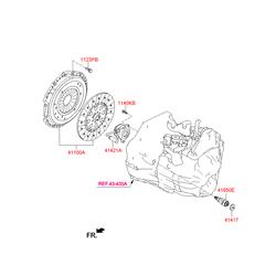 Сцепление (Hyundai-KIA) 412003B000