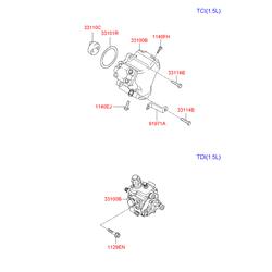 Топливный насос киа соренто (Hyundai-KIA) 331004A010