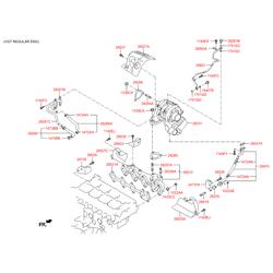Турбокомпрессор (Hyundai-KIA) 282312F750