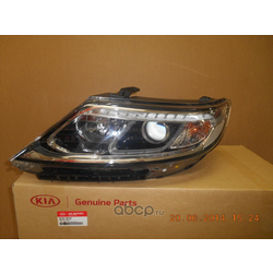 Фара Киа Соренто 2014 (Hyundai-KIA) 921012P550