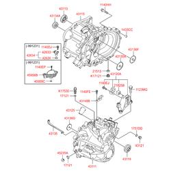 Реле (Hyundai-KIA) 4270023000