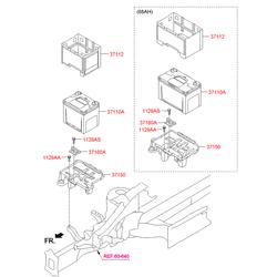 Купить аккумулятор Киа Спортейдж 2013 (Hyundai-KIA) 371102E100