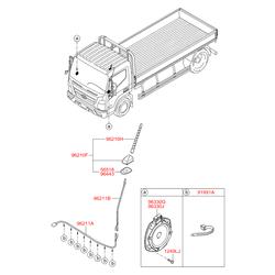 Антенна (Hyundai-KIA) 962011M000