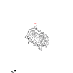 Блок цилиндров Киа Спортейдж (Hyundai-KIA) 2D2822EU01