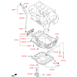 Купить датчик уровня масла Киа Спортейдж 3 (Hyundai-KIA) 215902A100