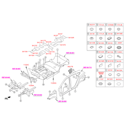 Защита на Киа Спортейдж 3 (Hyundai-KIA) 841372Z000