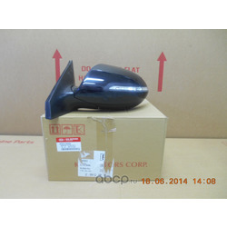 Зеркало левое Киа Спортейдж (Hyundai-KIA) 876103U230