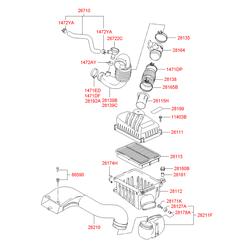 Клапан холостого хода (Hyundai-KIA) 2672227000