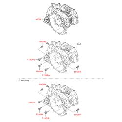 Купить коробку передач Киа Спортейдж 2 (Hyundai-KIA) 4300039964