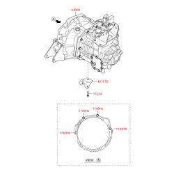 Механическая коробка передач (Hyundai-KIA) 4300039AA0