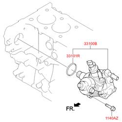 Купить топливный насос Киа Спортейдж 3 (Hyundai-KIA) 331002F000