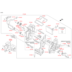 Резистор отопителя (Hyundai-KIA) 971792J000