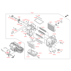 Резистор печки (Hyundai-KIA) 972353K100