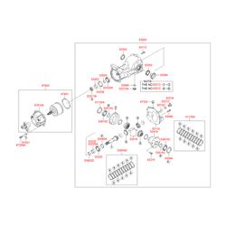 Датчик спидометра (Hyundai-KIA) 5304239000