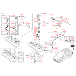 Датчик уровня топлива (Hyundai-KIA) 944602Y300