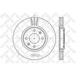 Диски тормозные передние (Stellox) 60201927VSX