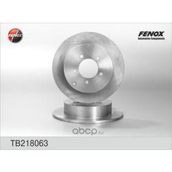 Диски тормозные задние (FENOX) TB218063