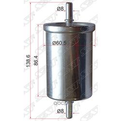 Топливный фильтр (Sat) ST7700845961