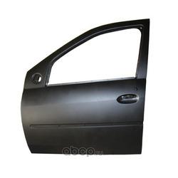 Дверь передняя левая Рено Логан без отверстий под молдинг каталожный номер 801016598R цена (RENAULT) 801016598R
