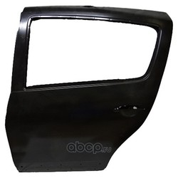 Задняя дверь на Рено Логан 2011 цена (RENAULT) 821018232R