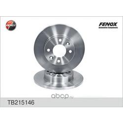 Диск тормозной передний Рено Логан вентилируемый купить (FENOX) TB215146