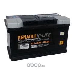 Аккумулятор для Рено Сценик 1.9 дизель цена (RENAULT) 7711419085