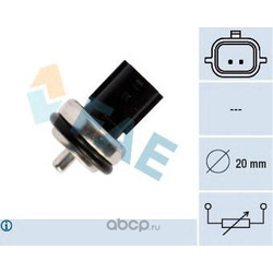 Датчик температуры охлаждающей жидкости Рено Сценик 2 цена (FAE) 33811