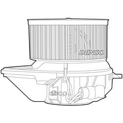 Моторчик печки Рено Сценик 1 цена (Denso) DEA23008