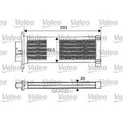 Радиатор отопителя Рено Сценик 3 купить (Valeo) 812235