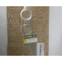 Прокладка коллектора Рено Логан 1.4 8 клапанов цена (RENAULT) 8200191371